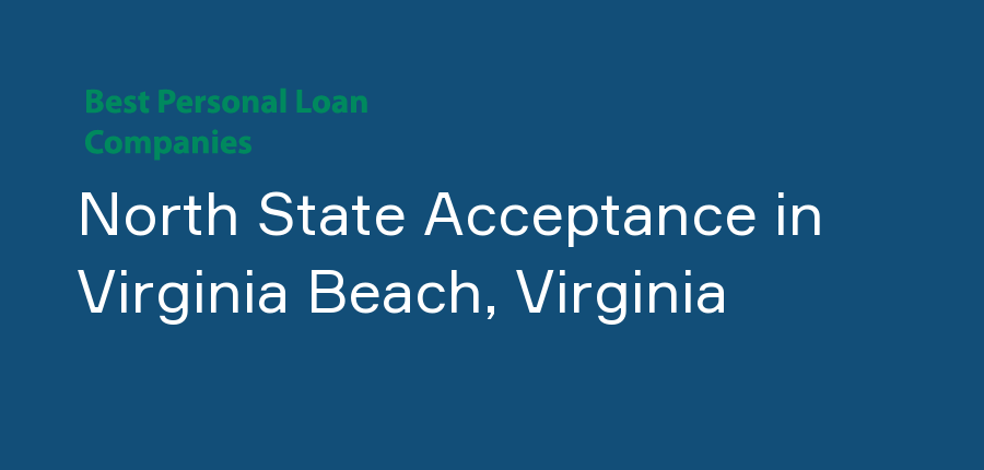 North State Acceptance in Virginia, Virginia Beach