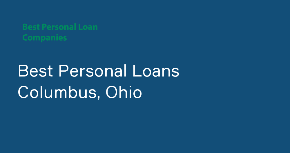 Online Personal Loans in Columbus, Ohio