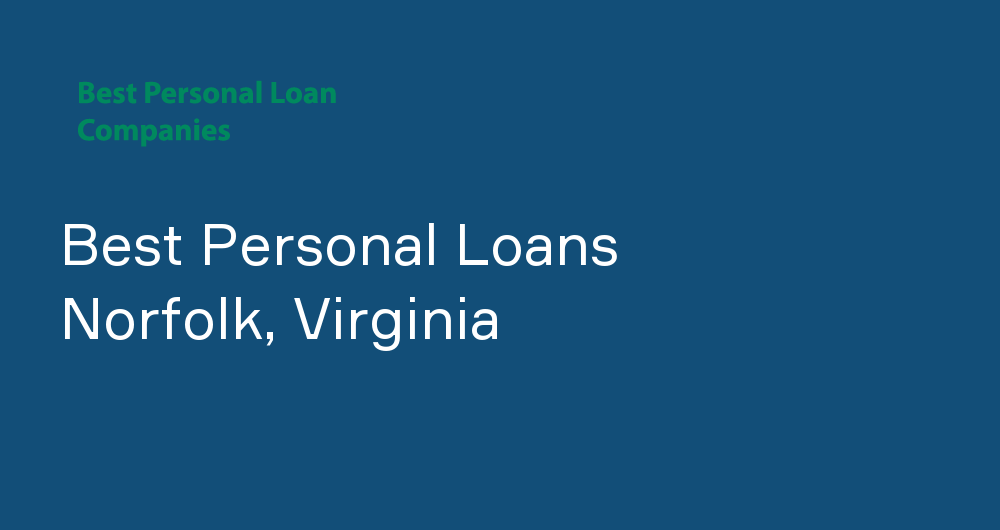 Online Personal Loans in Norfolk, Virginia